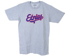 Etnies Dugout S/S - Heather Grey - Men's T-Shirt