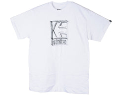 Etnies Icon Shade S/S - White - Men's T-Shirt