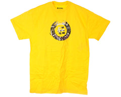 Etnies Stamp Fill S/S - Yellow - Men's T-Shirt