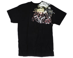 Etnies Zap S/S - Black - Men's T-Shirt