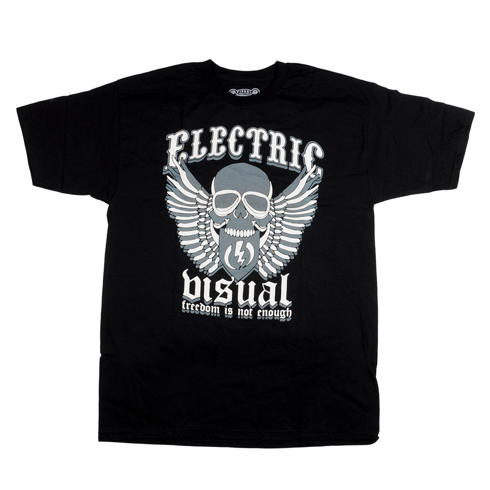Electric Visiual Height - Black - Mens T-Shirt