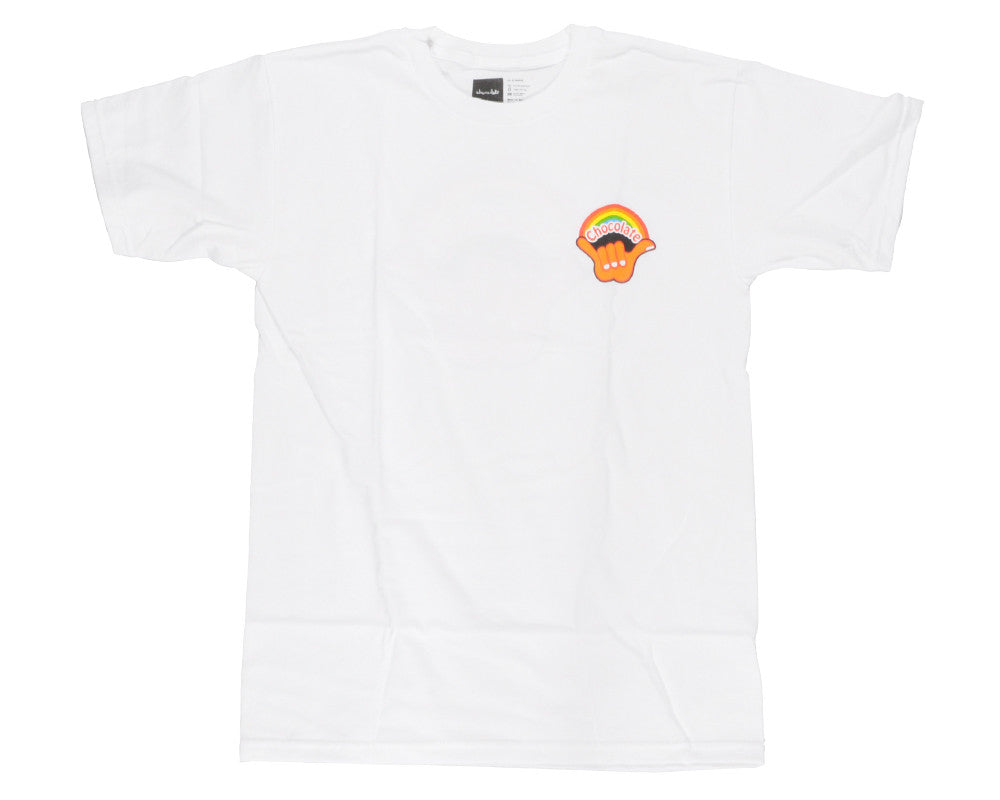 Chocolate Hang Loose - White - Men's T-Shirt