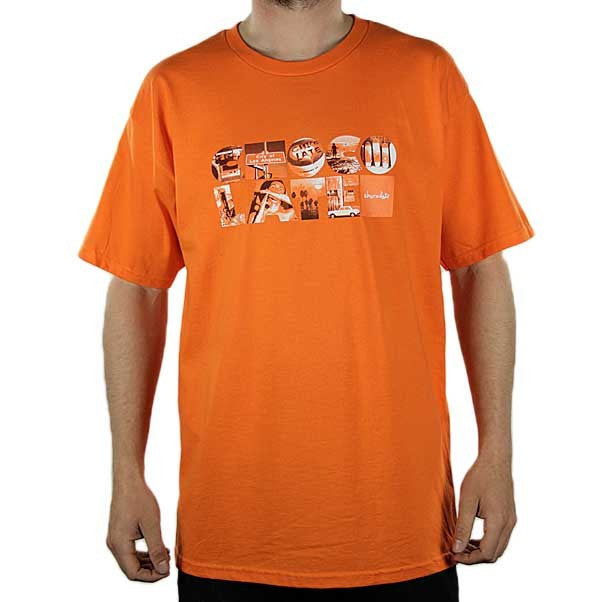 Chocolate Type Life - Orange - Men's T-Shirt