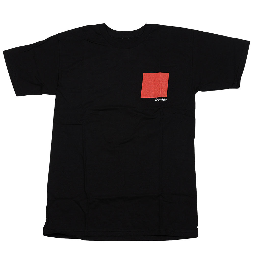 Chocolate Small Off Square S/S - Black - Men's T-Shirt
