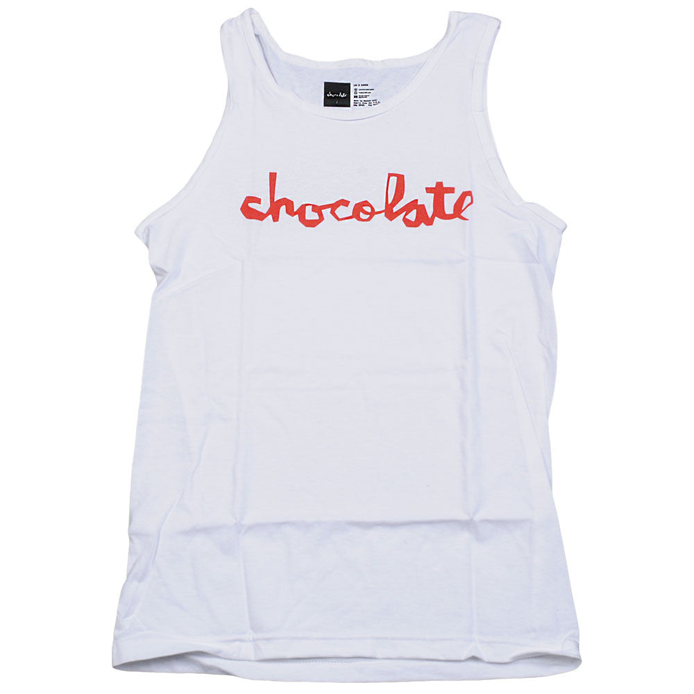 Chocolate Chunk - White - Men's Tank Top