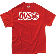 DVS Core Logo - Red - Men's T-shirt