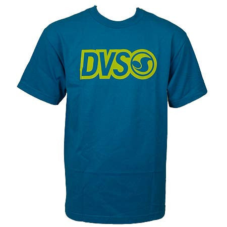 DVS Core Logo - Teal - Men's T-shirt