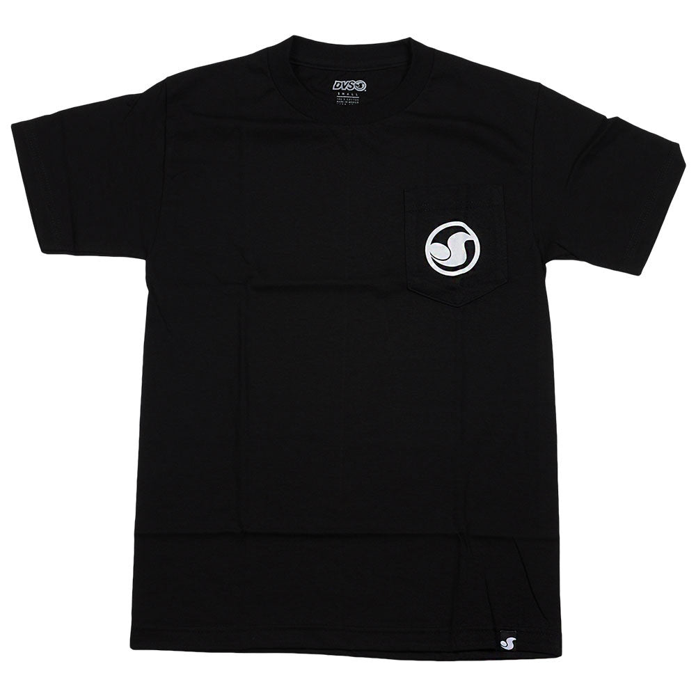 DVS Icon Pocket - Black - Men's T-shirt