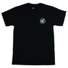 DVS Arcadia S/S - Black/White 001 - Men's T-Shirt