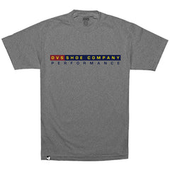 DVS Performance S/S - Grey 020 - Men's T-Shirt