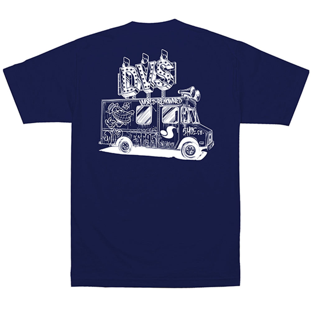 DVS Deliver S/S - Navy 400 - Men's T-Shirt