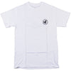 DVS Arcadia S/S - White/Black - Men's T-Shirt