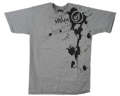 Volcom Spick N Splat S/S - Grey - Men's T-Shirt