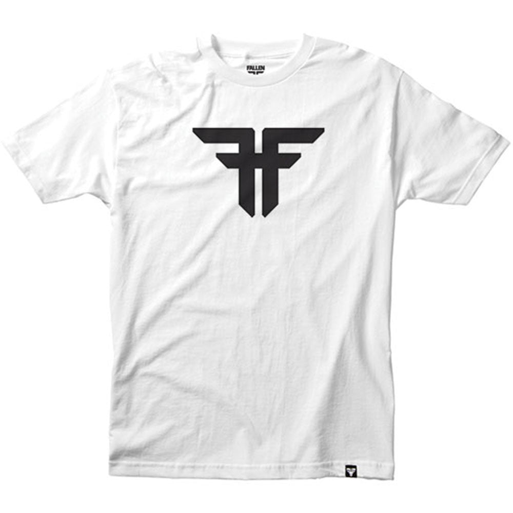 Fallen Trademark S/S - White/Black - Men's T-Shirt