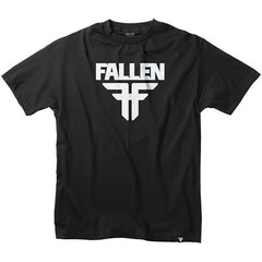 Fallen Insignia S/S - Black/White - Men's T-Shirt