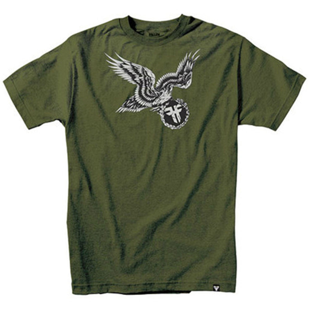 Fallen Eagle Of Vengeance S/S - Surplus Green - Men's T-Shirt