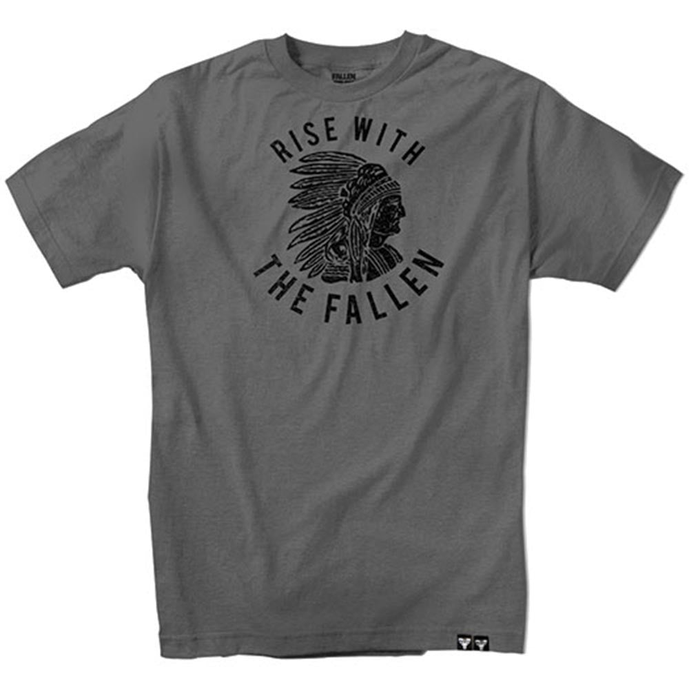 Fallen Tribe S/S - Charcoal - Men's T-Shirt