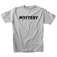 Mystery Logo S/S - Heather Grey/Black - Men's T-Shirt