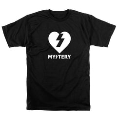 Mystery Heart Premium S/S - Black - Men's T-Shirt