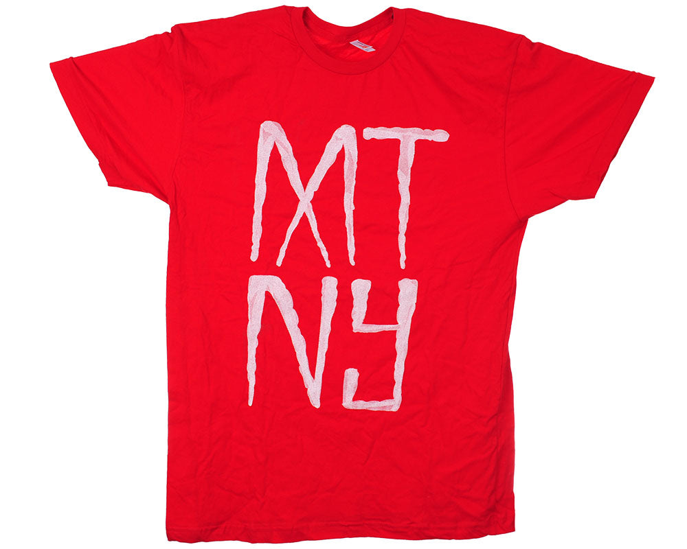 American Apparel Mutiny MTN S/S - Red - Men's T-Shirt