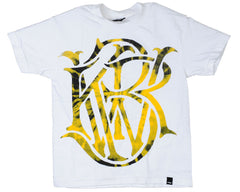 KR3W Heart Mono Youth S/S - Tie Dye - Men's T-Shirt