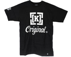 KR3W Heart Original S/S - Black - Men's T-Shirt