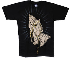 KR3W Prayer S/S - Black - Men's T-Shirt