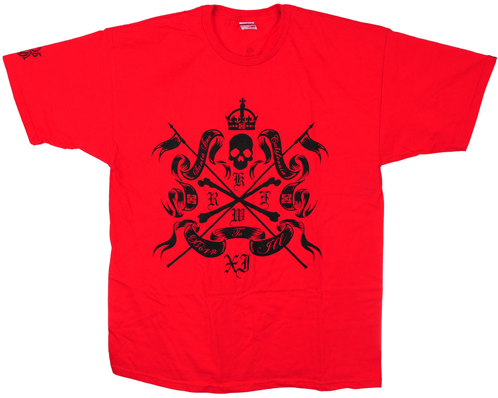 KR3W Santa Ana S/S - Red - Men's T-Shirt