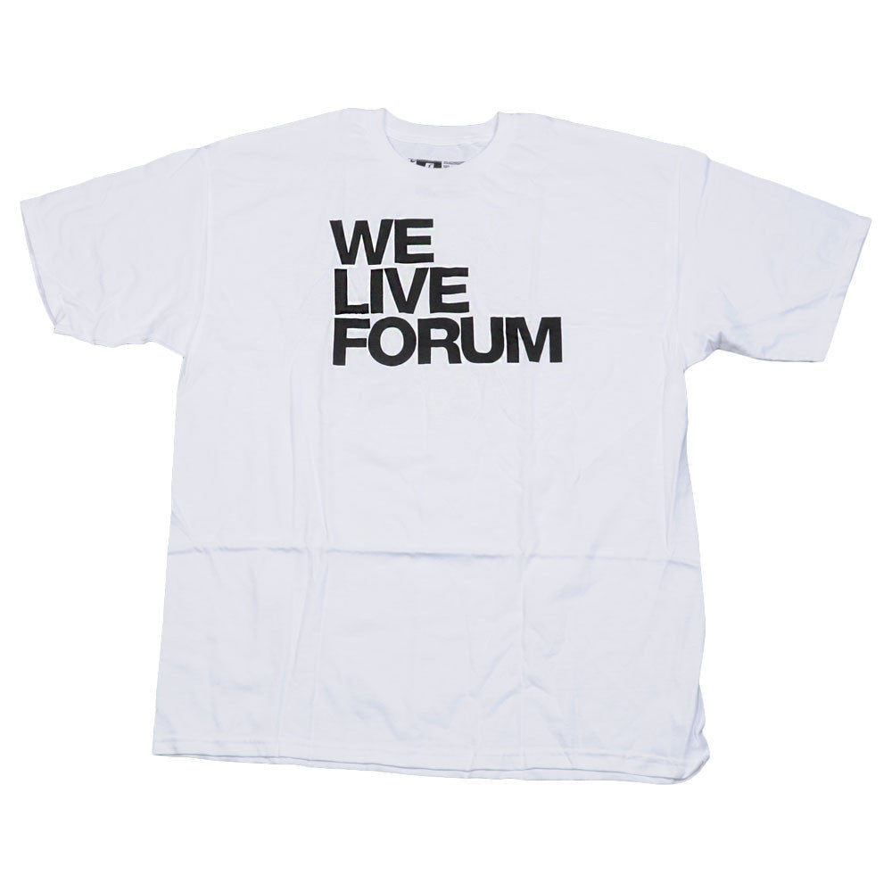 Forum We Live FM - Men's T-Shirt - White