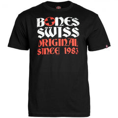 Bones Bearings Swiss OG 83 - Black - T-Shirt