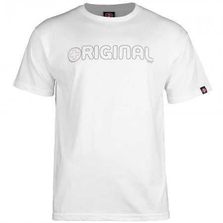 Bones Bearings Original Swiss - White - T-Shirt
