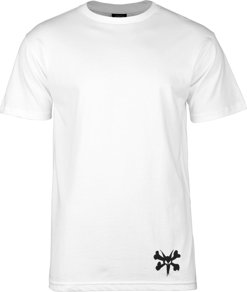 Bones Hipster S/S - White - Men's T-Shirt