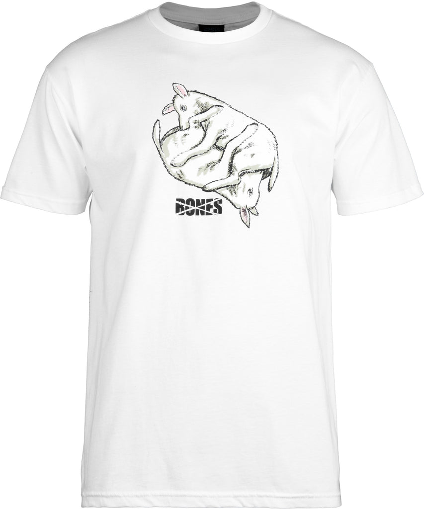 Bones Lambchop S/S - White - Men's T-Shirt