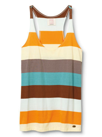 Quiksilver Shack Stripe Tank Top - Multi - Womens Shirt