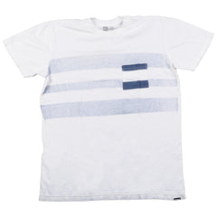 Quiksilver Fallout Pocket Slim Fit T-Shirt - White - Mens T-Shirt