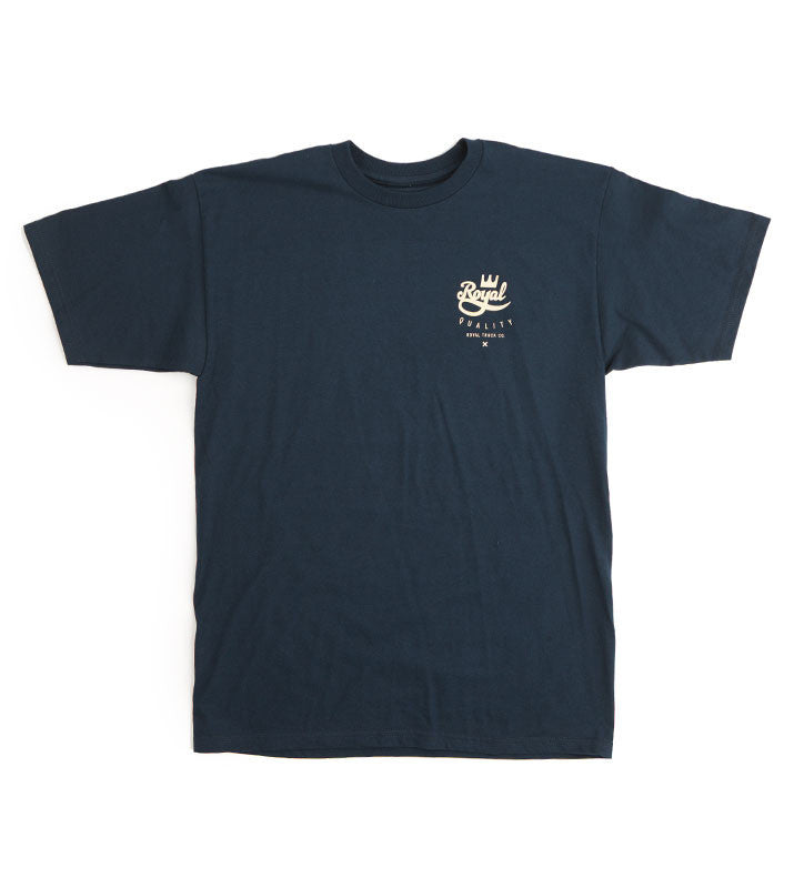 Royal Crown Crest - Navy - Men's T-Shirt