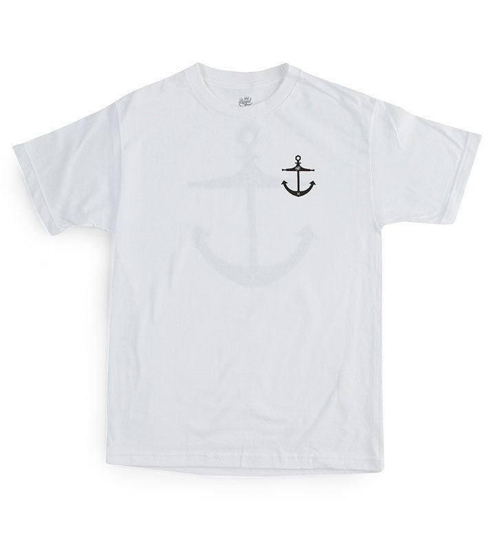 Royal Anchor Tee - White - Men's T-Shirt