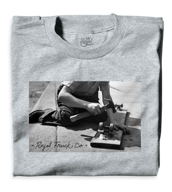 Royal Vintage - Heather Grey - Men's T-Shirt