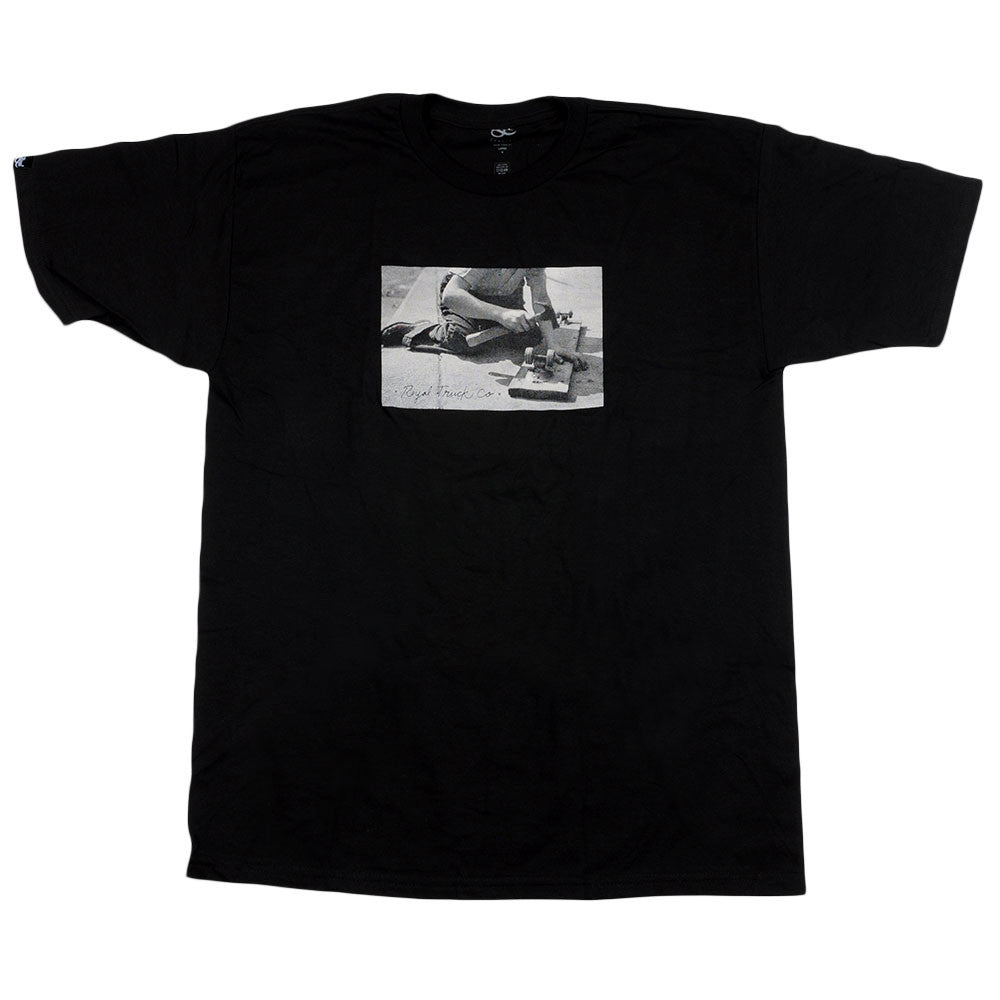Royal Vintage - Black - Men's T-Shirt