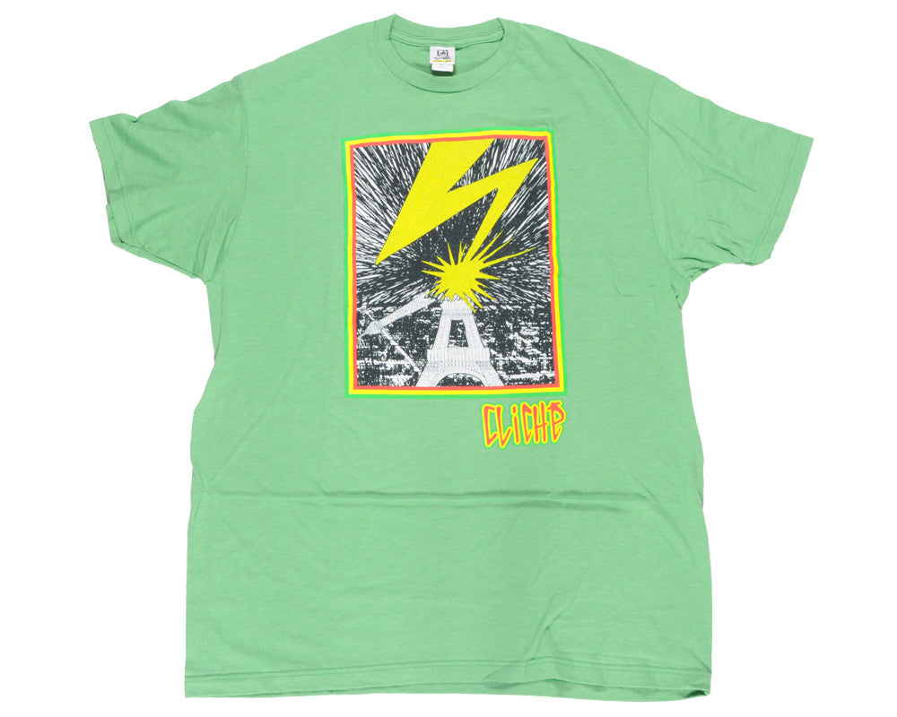 Cliche Mad Brains S/S Tee - Kelly Heather - Mens T-Shirt