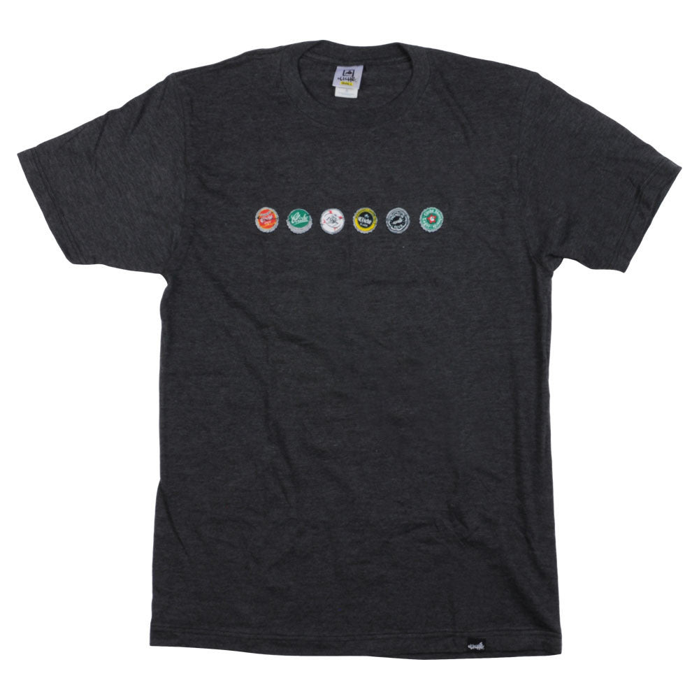Cliche Caps S/S - Charcoal Heather - Men's T-Shirt