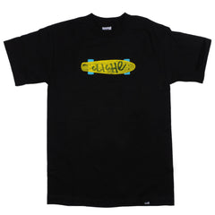 Cliche Trocadero S/S - Black - Men's T-Shirt