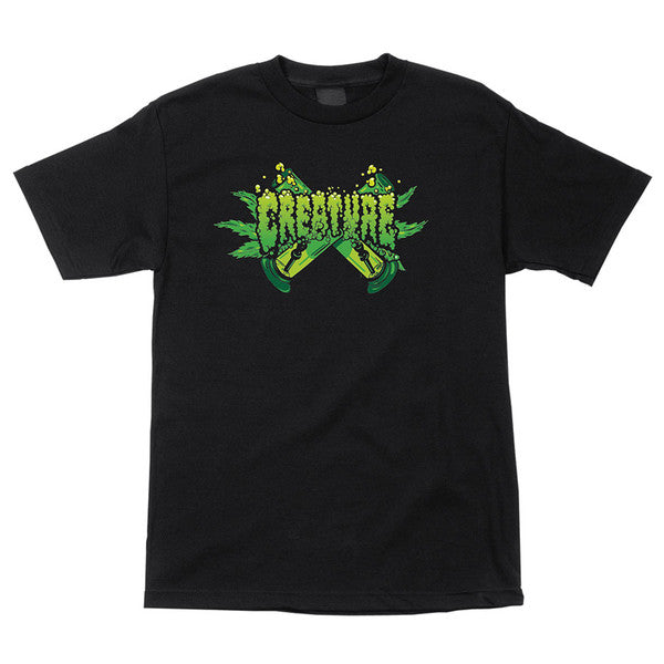Creature OG Kush Regular S/S - Black - Men's T-Shirt