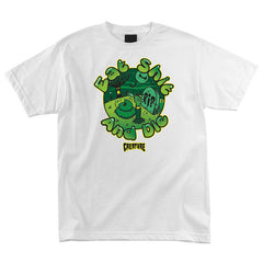 Creature Eat Shit Regular S/S - White - Men's T-Shirt