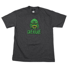 Creature Black Lagoon Regular S/S - Charcoal Heather - Men's T-Shirt