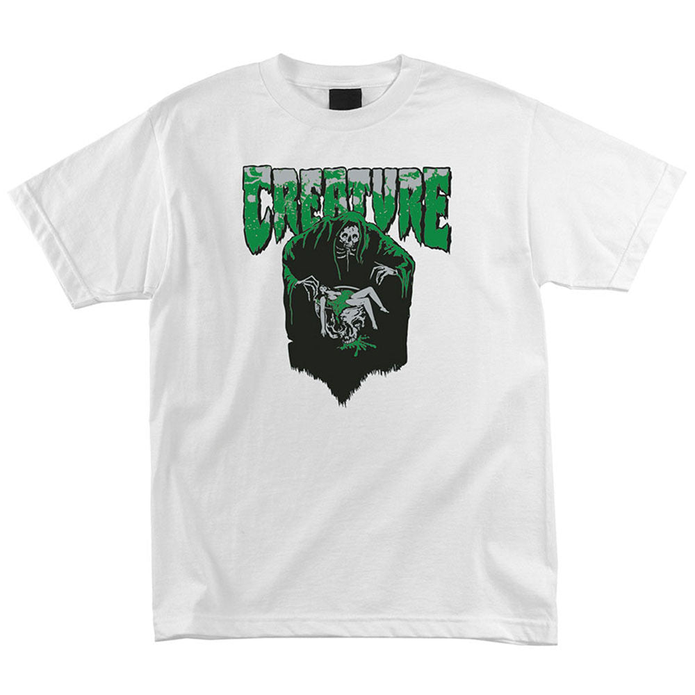 Creature Baptism Regular S/S - White - Men's T-Shirt