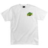 Creature Go Home Regular S/S - White - Men's T-Shirt