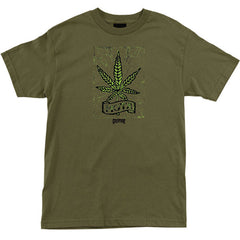Creature Mota Regular S/S - Military Green - Men's T-Shirt
