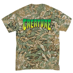 Creature Logo Regular S/S - Camouflage - Men's T-Shirt