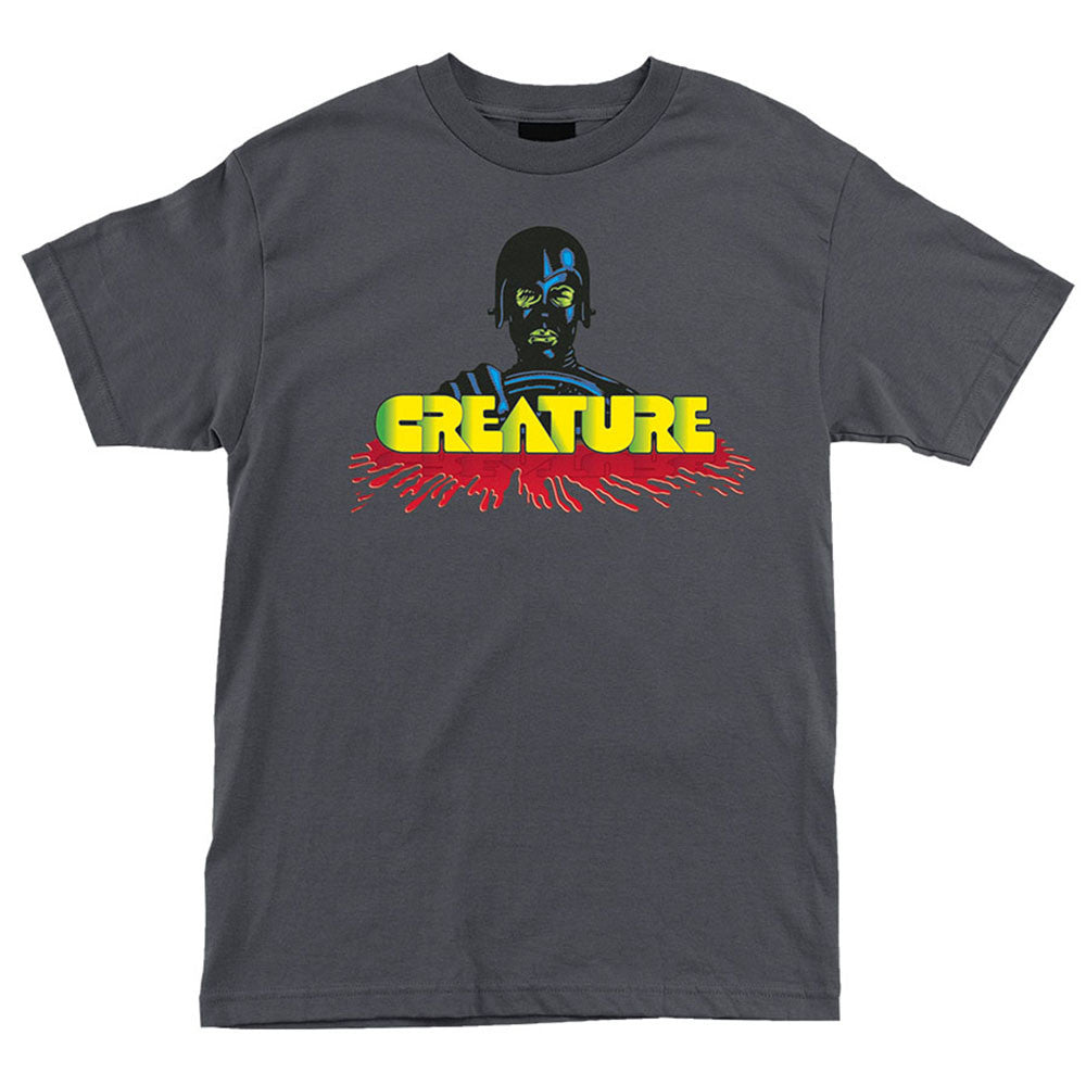 Creature Speed Kills Regular S/S - Charcoal - Men's T-Shirt